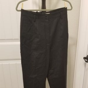 Pants - Black high rise trousers